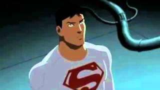 justia jovem tenta convencer o superboy