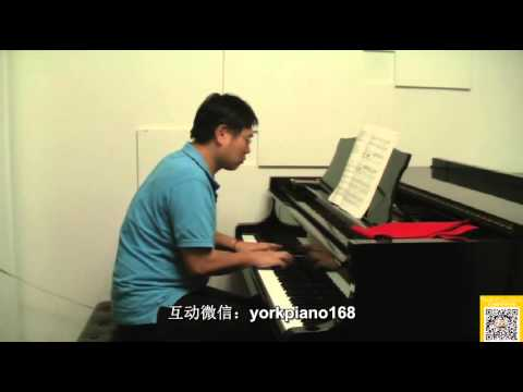 23 Watchmans song by grieg John Thompson   Modern Course for the piano part 3
