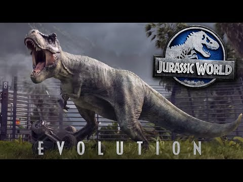 JURASSIC WORLD EVOLUTION! - TRAILER   REVIEW/THOUGHTS