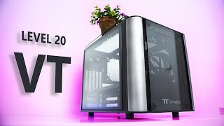 One Cube Case To Rule Them All?  Thermaltake Level 20 VT