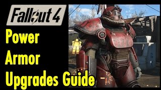 Power Armor Upgrades Guide | Fallout 4 | xBeau Gaming