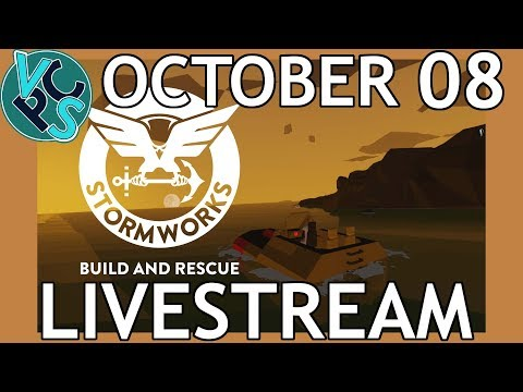 Stormworks LIVE! Build and Rescue - Coast Guard Simulator