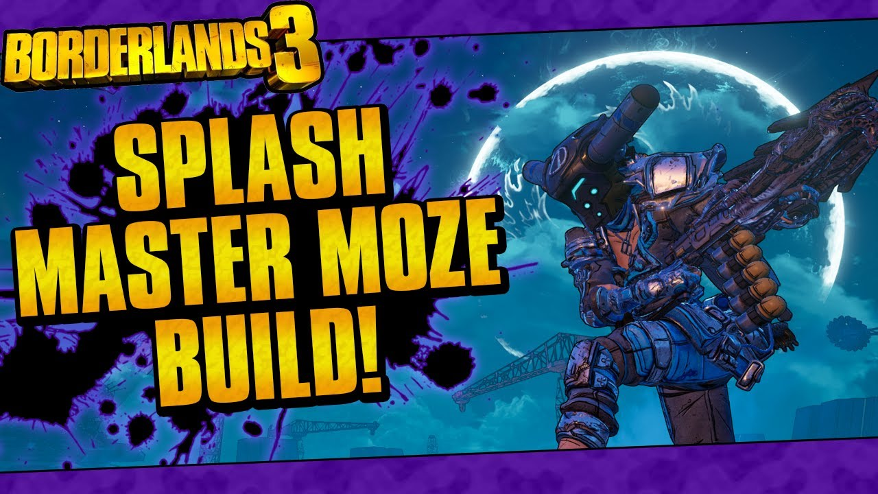Borderlands 3 | Splash Master Moze Build (Melt Anything On Mayhem 4 + Game Save) thumbnail