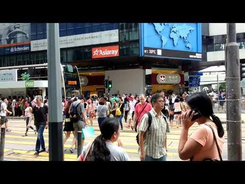HONGKONG's BUSY HOUR....SUNDAY..June 14,2015