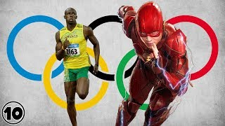 Top 10 Superheroes Who Would Destroy At The Olympics