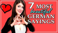 7 MOST BEAUTIFUL German Sayings