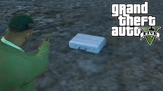 "GTA 5: $25,000 Secret Briefcase Location! ""Deal Gone Wrong"" Random Event Secret Money Package(GTA V)"