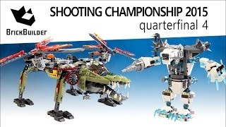 Lego Chima Shooting Championship 2015 - Quarterfinal 04 - King Crominus' Rescue Vs Icebite's Claw
