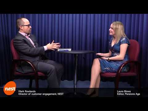 Mark Rowlands discusses member engagement with Laura Blows, Editor of Pensions Age