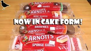Baixar Arnott's Biscuits Inspired Cakes & Brownies Food Review Tasting!   Birdew Reviews