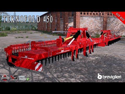 BREVIGLIERI TEKNOFOLD 450 ERPICE ROTANTE | FARMING SIMULATOR 17 - ALEX FARMER