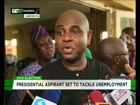 Presidential aspirant sets to tackle unemployment