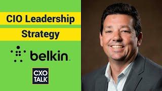 Belkin CIO: Transformation, Cloud Migration, and Nutanix (CxOTalk)