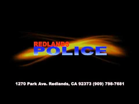 RedlandsPD Videos Coming Soon