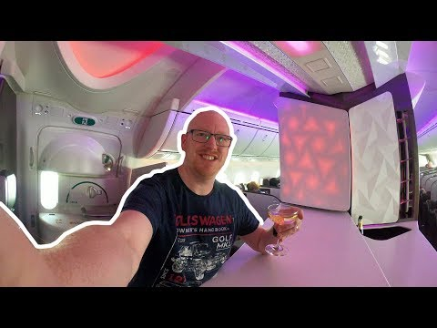Virgin Atlantic Upper Class: MY BEST FLIGHT YET!