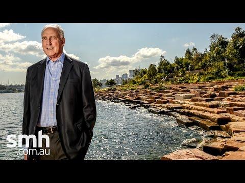 Paul Keating opens Barangaroo Reserve