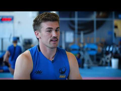 Ollie Callan discusses Junior Wallabies camp