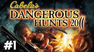 Cabelas Dangerous Hunts 2011 MLG-through Part 1