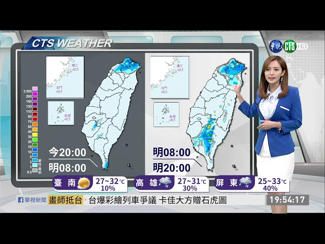 秋天報到天氣轉涼 早晚溫差大 | 華視新聞 20190917