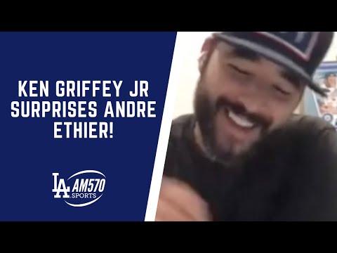 Ken Griffey Jr SURPRISES Andre Ethier On Dodger Talk