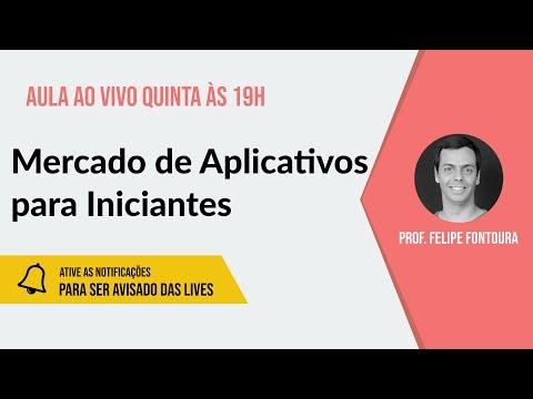 AULA AO VIVO: O Mercado de Aplicativo para Iniciantes