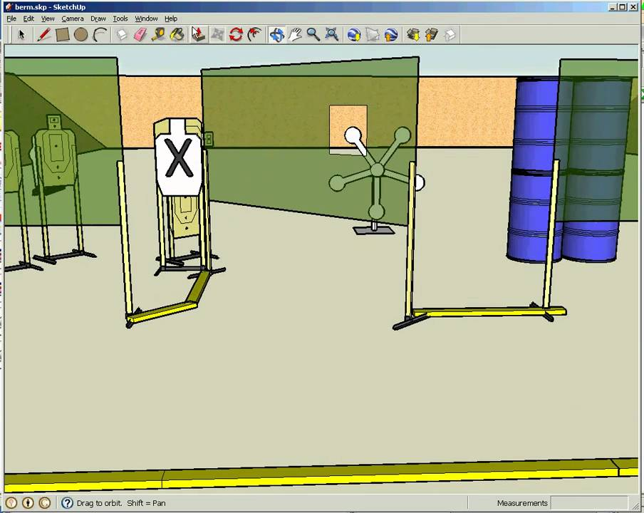 How To Draw A Stage Using Google Sketchup Youtube