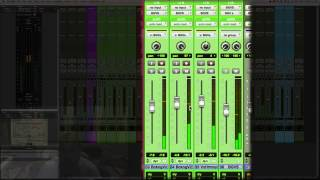 Mixing Indie Folk in Pro Tools | BGV | 9/11