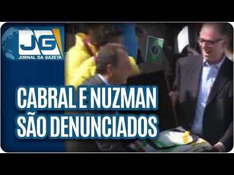Cabral e Nuzman são denunciados