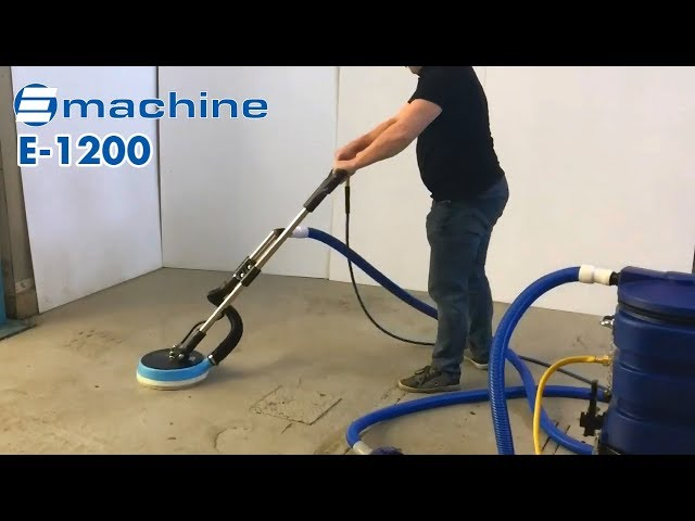 tile and grout cleaning machine
