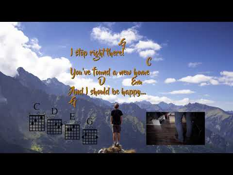 Man Upon The Hill - Stars and Rabbit Easy Chords Guitar & Lyrics