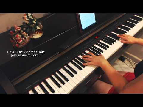 EXO - The Winter's Tale (Full version) - piano cover and sheets