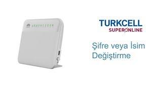 Turkcell Superonline WiFi Modem Adı ve Şifresi Nasıl Değiştirilir?