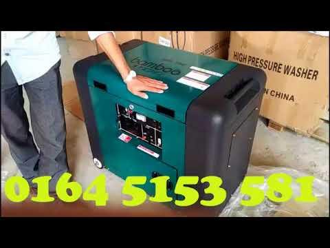 Máy phát điện chạy dầu diesel Bamboo Nhật Bản chống ồn 5kw,7kw,8kw,10kw.LH 0962.313.158