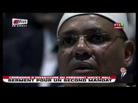 Cérémonie d'investiture : Discour du Président Macky SALL