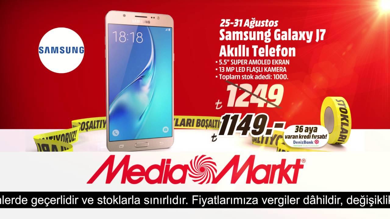 Samsung Galaxy J7 Kaçırılmaz Fırsatla Media Marktta
