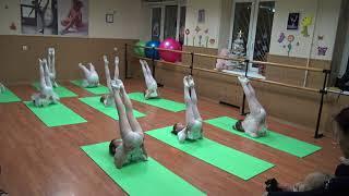 ECARTE.RU Открытый урок по хореографии для детей от 6-7 лет