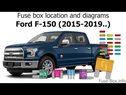 Fuse Box Location And Diagrams Ford F 150 2015 2019 Youtube