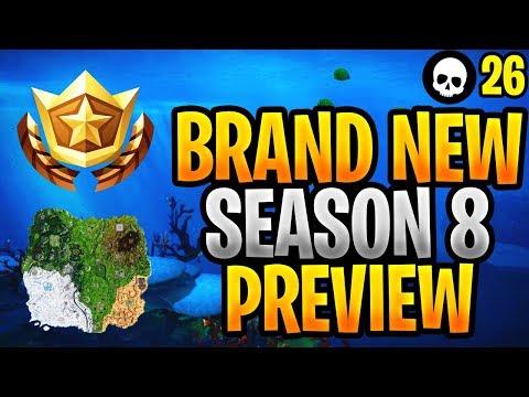 We Just Got A Preview Of Fortnite Season 8... (*NEW* Season 8 Map + Update Leaks)