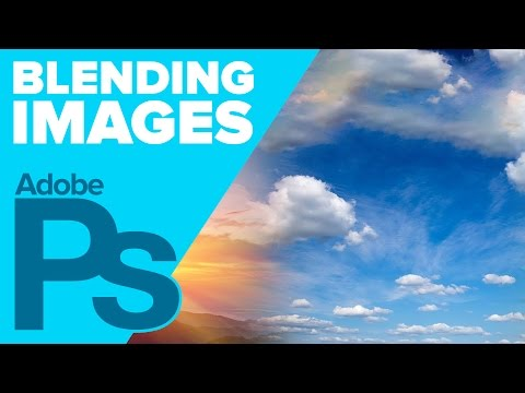 How to Blend Multiple Images in Adobe #Photoshop