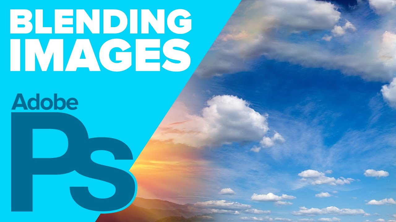 How to Blend Multiple Images in Adobe #Photoshop - YouTube