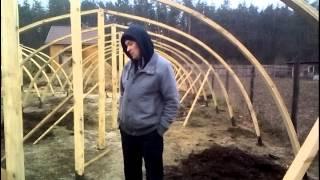 видео: Делаем каркас деревянной теплицы