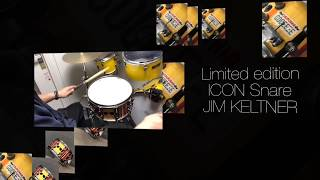 【dw】Limited edition ICON Snare Drums JIM KELTNER 14x6.5 ジムケルトナー スネアドラム 《国内入荷2台のみ》