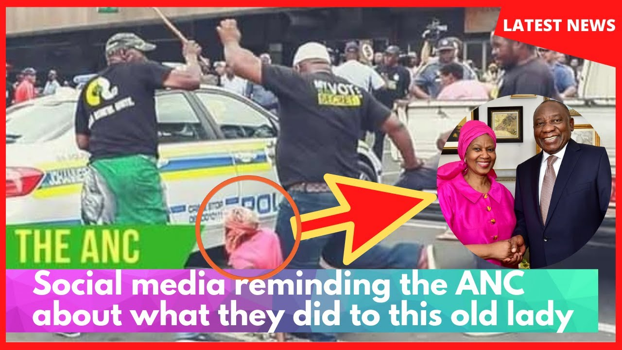32 days to Elections: Social media reminding the ANC about what they did to this old lady