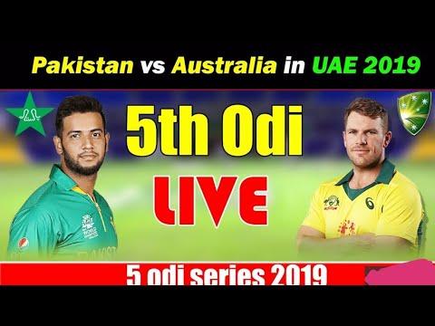 Pak Vs Aus 5th Odi Match Live