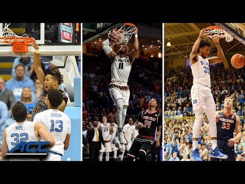Best Dunks Of The Year...So Far | ACC Basketball