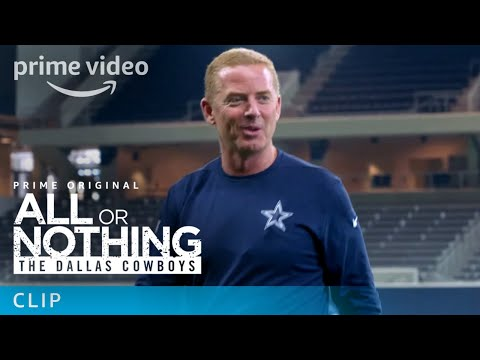 All or Nothing: The Dallas Cowboys - Clip: Football Toss | Prime Video