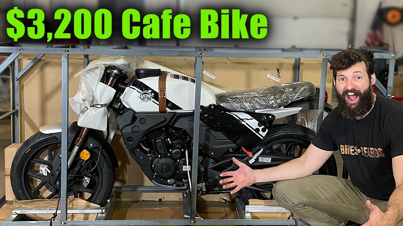 I Bought the Cheapest Cafe Racer from a Box