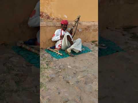 Udja Kale kawan Gadar-Ek prem katha instrumental by local musician with local music instrument