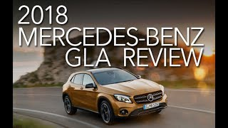 2018 Mercedes-Benz GLA: A Crossover with Low Ground Clearance