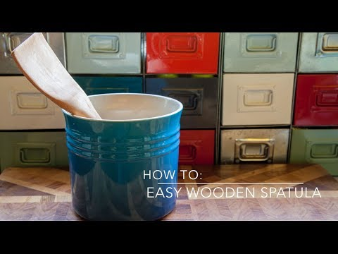 How to: Easy wooden spatula